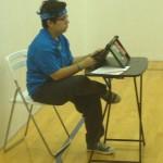 Cristine Newport Beach table tennis umpire