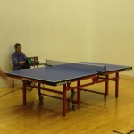 Ivan and John match - 5 sets in Newport Beach table tennis club