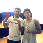 Alex Figueroa and Rodrigo Tapia after playing the Equal Challenge Tournament