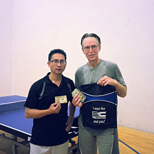 Newport Beach Table Tennis Finalists
