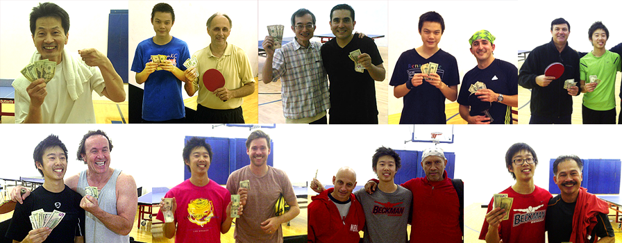 Equal Challenge - Weekly Table Tennis Champions