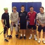 Equal Challenge Table Tennis Players