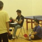 Keeping the score on Newport Beach Table Tennis