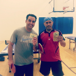 Ray Shak and Rudy Miranda after playing the Equal Challenge Tournament