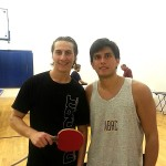 William Graff and Rodrigo Tapia after playing the Equal Challenge