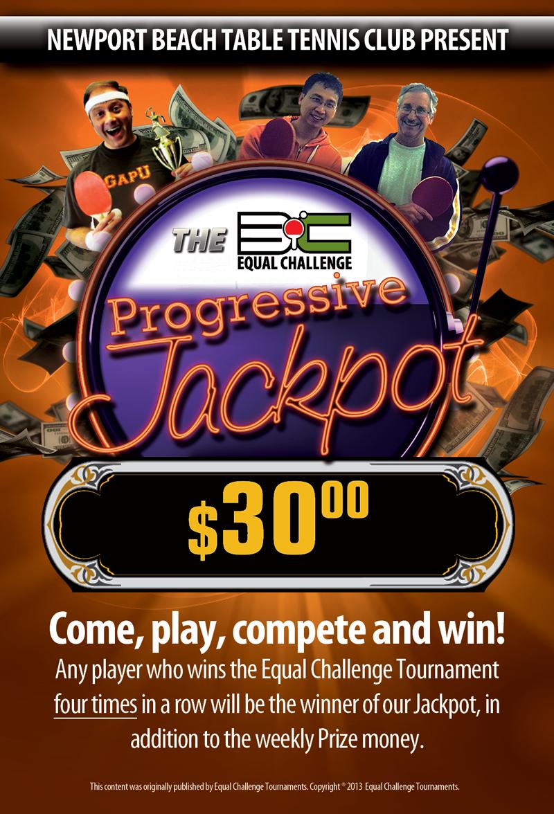The Equal Challenge Jackpot