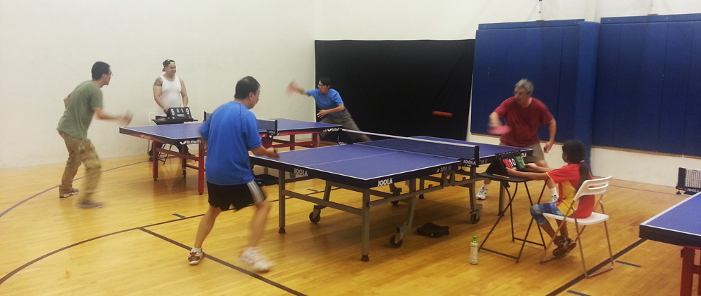 Equal Challenge Table Tennis Tournament California