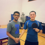 Equal Challenge Finalist in Newport Beach Table Tennis Club