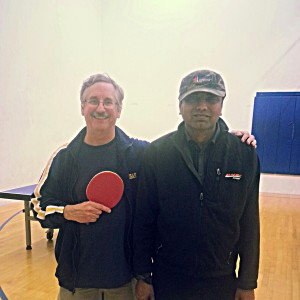 Equal Challenge Table Tennis Tournament - Tim Stephens and Daniel Sub