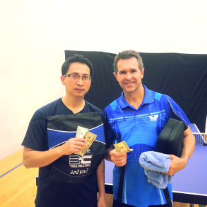 Newport Beach Ping Pong Equal Challenge Finalists