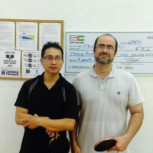 ping pong club newport beach Equal Challenge Tournament